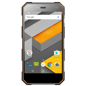 Robustes Android-Telefon NOMU S10 - Quad-Core-CPU, Android 6.0, 4G, IP68, 5-Zoll-IPS-Bildschirm (orange) - Beewik-Shop.com