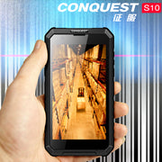 Conquest S10 Rugged Smartphone - IP68, GPS, Octa Core, LED Light Torch, OTG, NFC, 5000 mAh Battery, 4G - Beewik-Shop.com