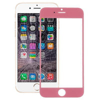 iPartsBuy Front Screen Outer Glass Lens for iPhone 6(Pink)