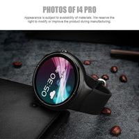 IQI I4 Pro Android Watch Phone - Bluetooth 4.0, WiFi, GPS, 1 IMEI, 3G, Pedometer, Heart Rate Monitor, Android 5.1, Quad-Core CPU