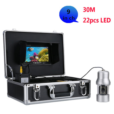 Underwater fishing video recorder -360 degrees, 1/3 inch SONY CCD, 700 TVL, remote control, 9 inch color display send 8 G TF CAR - Beewik-Shop.com