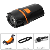 LED Bike Light - 10W, 450 Lumen, IPX6 Waterproof, 4 Light Modes, 1150mAh, 100m Range