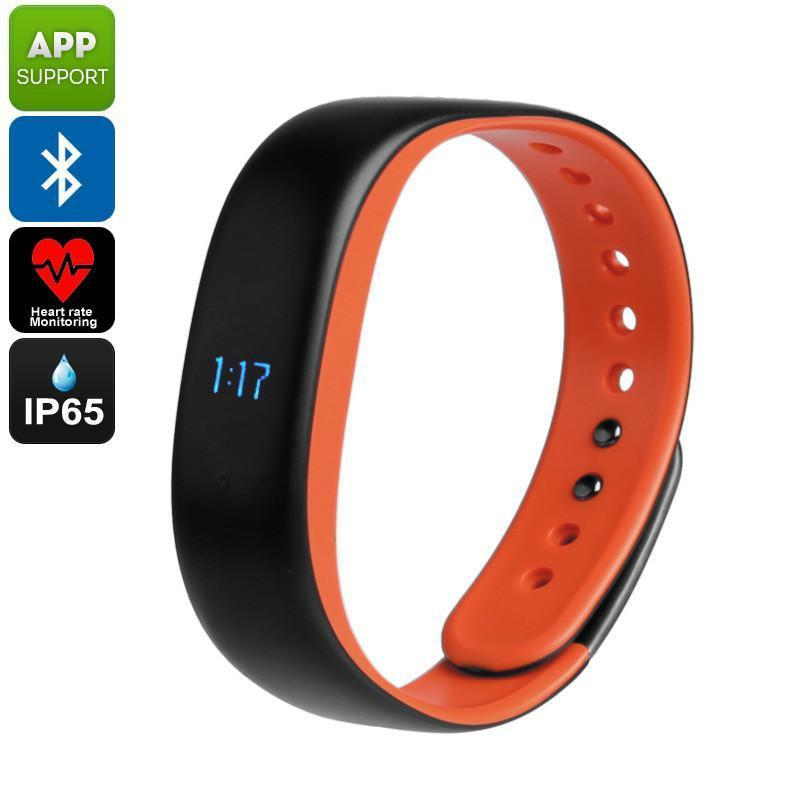 Lenovo HW02 Fitness Tracker Bracelet - Heart Rate Monitor, Sleep Monitor, Pedometer, Calorie Counter, Bluetooth, App, IP65 - Beewik-Shop.com