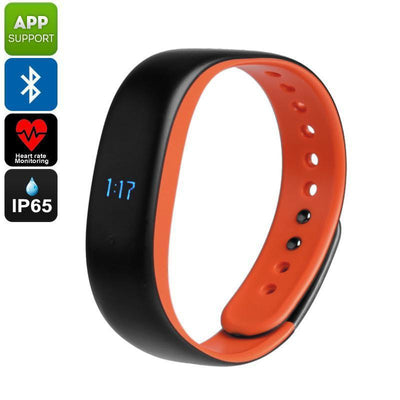 Lenovo HW02 Fitness Tracker Bracelet - Heart Rate Monitor, Sleep Monitor, Pedometer, Calorie Counter, Bluetooth, App, IP65