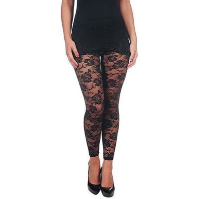 INTIMAX LEGGINS ENCAJE BLACK - Beewik-Shop.com