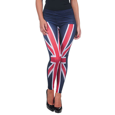 INTIMAX UK LEGGINS BLUE - Beewik-Shop.com