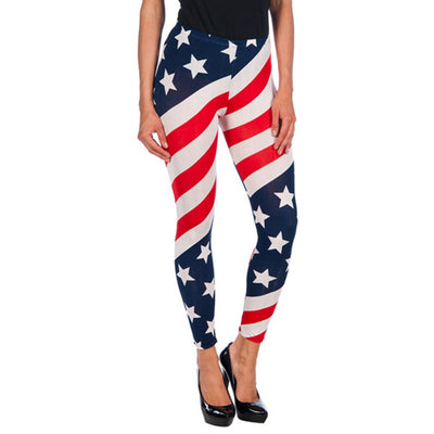 INTIMAX LEGGINS USA RED - Beewik-Shop.com