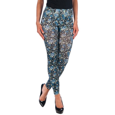 INTIMAX LEGGINS FLORES GREY - Beewik-Shop.com