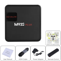 M92S Plus Android TV Box - Android 7.1, Octa-Core CPU, 2GB RAM, 4K Support, Google Play, Miracast, Dual-Band WiFi
