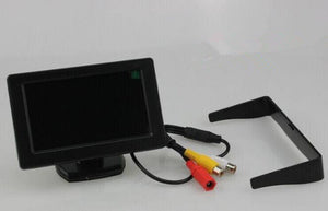 4.3 Inch Rearview Mirror Monitor -  Button Control, 4_3 Ratio, 480x234