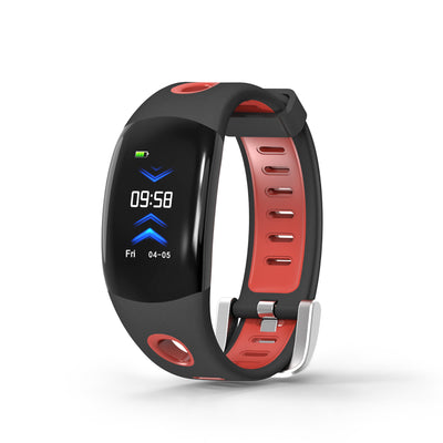 Fitness Tracker Bracelet-Red- Heart Rate Monitor, Distance Counter, Pedometer, Blood Pressure, IP68.Waterproof - Beewik-Shop.com