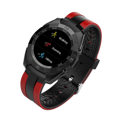 Bluetooth Smartwatch, 10.5mm Ultra-Thin Dial, Heart rate Monitor, Pedometer, 1.54-inch display. - Beewik-Shop.com