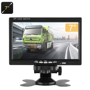 Écran LCD TFT 7 pouces - 16:9 Aspect Ratio, 800x480p, 128 Go Prise en charge SD - Beewik-Shop.com