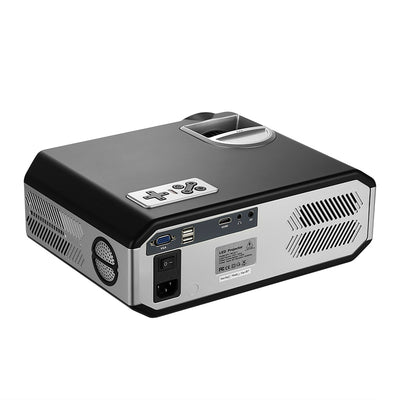 LCD Android Projector - HD Resolutions, Android OS, Upto 280 Inche Image Size, Quad Core ARM CPU, Wi-Fi, HDMI, AV, VGA In