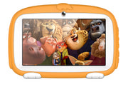 Android Tablet PC – For Kids, Sophisticated Hardware, WiFi, 7 Inch Display, HD Visuals, 4000mAh, Built-in Camera (Yellow) - Beewik-Shop.com