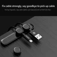 Baseus Magnetic USB Cable Organizer für Smartphone PC MAC - Beewik-Shop.com