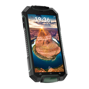 Smartphone robusto Geotel A1 - Android 7.0, Quad-Core, foto da 8 MP, IP67 (verde) - Beewik-Shop.com