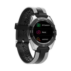 Bluetooth Smartwatch, 10.5mm Ultra-Thin Dial, Heart rate Monitor, Pedometer, 1.54-inch display.Silver