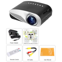 Mini-projecteur'' Simple'' - 1080p,  distance de projection 0.5 - 3.5M - Beewik-Shop.com