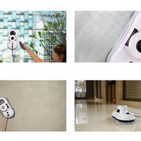 Robot X5 Robotic Window Cleaner - 4 Cleaning Modes, Remote Control, Phone App, Backup UPS 600mAh - Beewik-Shop.com