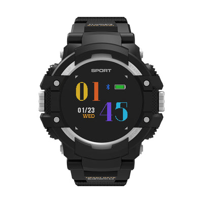 No.1 F7 Smartwatch - GPS, Bluetooth 4.2, Heart Rate, Pedometer, Sleep Monitor, Call Alert, IP67 Waterproof (Gray) - Beewik-Shop.com