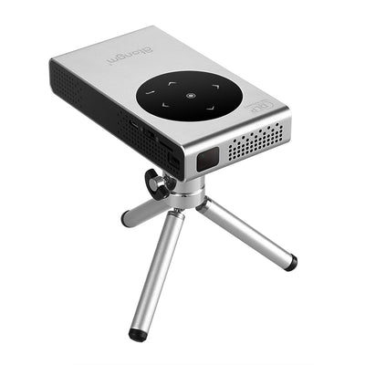Atongm M6 Mini Projector - Linux OS, WiFi, 720p, 100 Lumens, Touchpad, Miracast, DLNA, Airplay, Quad-Core, 4800mAh