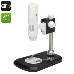Microscopio digitale wireless per Android e iOS - Zoom 800x, sensore da 2,0 Megapixel - Beewik-Shop.com