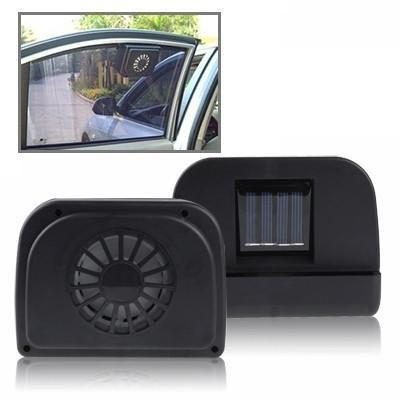 Solar Powered Auto Fan(Black) - Beewik-Shop.com
