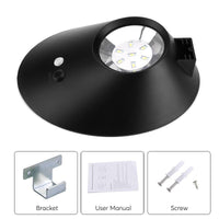 Solar Powered LED Light - 3 Light Modes, PIR Sensor, 300 Lumens, 4400mAh Battery, IP65 Waterproof - Beewik-Shop.com