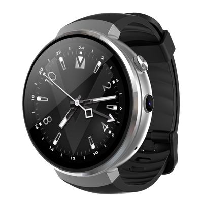 M7 Android Smart Watch - 4G, 1.39 Inch Touch Screen, Pedometer, Heartrate Sensor, Android 7.0, 2MP Camera-Silver - Beewik-Shop.com