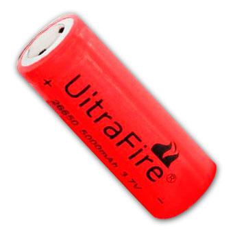 UiTRAFIRE Batterie GH 26650 Lithium - Beewik-Shop.com