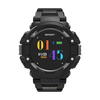 No.1 F7 Smartwatch - GPS, Bluetooth 4.2, Heart Rate, Pedometer, Sleep Monitor, Call Alert, IP67 Waterproof (Black) - Beewik-Shop.com