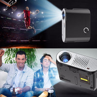 GP90 GP HD Projector - Android, Wi-Fi, DLNA, Airplay, Miracast, HD Resolution, 1080P Support, 3200 Lumen, 40 To 280 Inch Image - Beewik-Shop.com