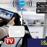 DTV Link - Supports DVB-T And ISDB-T, For Android And iOS, Private WiFi Network, Playback, Recording, Pause - Beewik-Shop.com