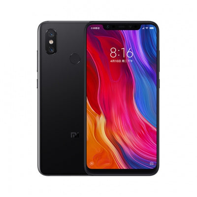 Preorder Xiaomi 8 Smartphone - 6.21Inch AMOLED Screen, Octa Core, 6GB RAM, Dual GPS, Fingerprint, NFC (Black)