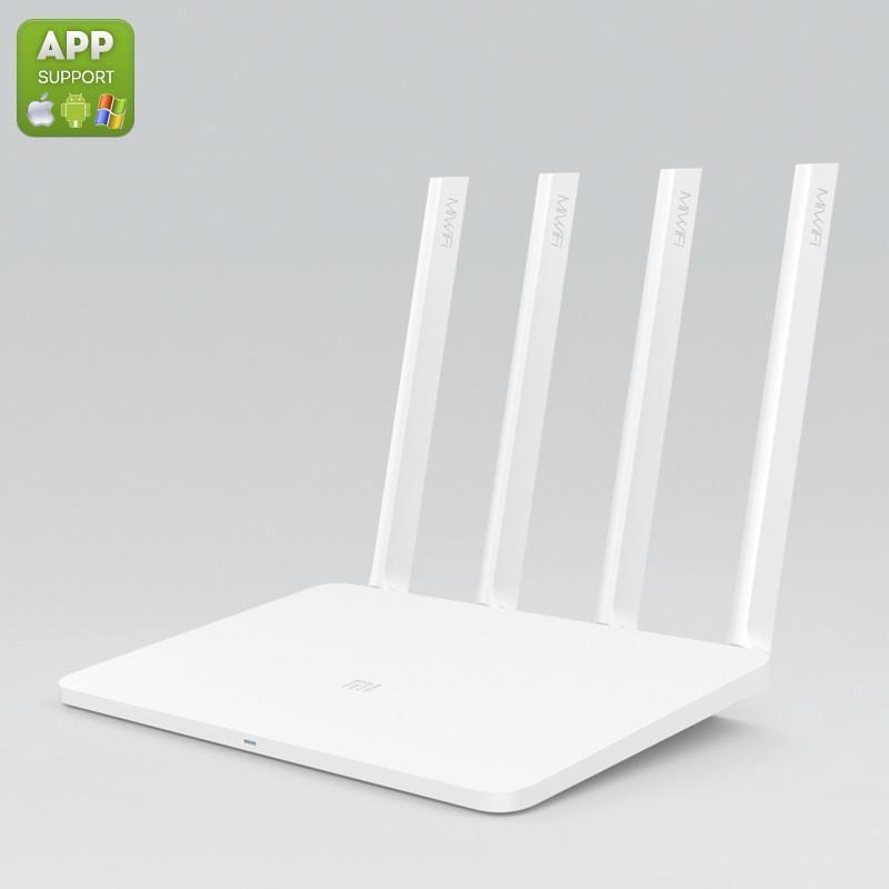 Xiaomi Dual Band Wi-Fi Router - 4 antennes externes, 1167Mbps, double bande, le contrôle des applications, Support Windows Mac iOS et Android