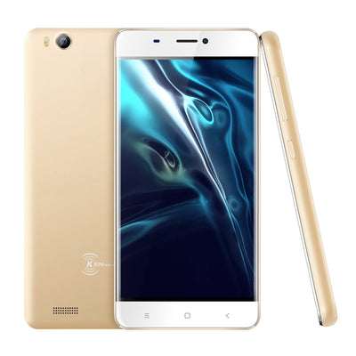 V6  3G Smartphone - Android 6.0 OS, Quad Core CPU4.5-Inch Display, 1700mAh Battery, Front & Rear Camera (Gold) - Beewik-Shop.com