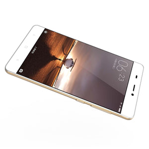 V6  3G Smartphone - Android 6.0 OS, Quad Core CPU4.5-Inch Display, 1700mAh Battery, Front & Rear Camera (Gold)