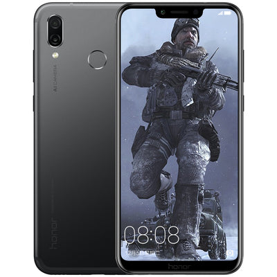 Huawei Honor Play Smartphone - 6.3 Inch Screen, 6GB RAM, Octa Core, Dual AI Camera, Fingerprint, Support Micro SD Card (Black) - Beewik-Shop.com