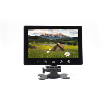 Car Stand Alone Monitor - 9 Inch Screen,  16_9 Display Mode,  NTSC/PAL, Headrest Mount Frame, Touch Key - Beewik-Shop.com