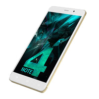 Uhans Note 4 Android Smartphone - 5.5-Inch, Quad-Core CPU, 3GB RAM, Android 7.0, Dual-IMEI, 4G, 13MP Camera, 4000mAh (Gold) - Beewik-Shop.com