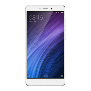 "Smartphone Xiaomi Redmi 4 - Display 5 "", 2 GB RAM, Octa-Core, Android 6.0 (argento) - Beewik-Shop.com"