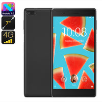 Lenovo Tab 7 Essential Tablet PC - Quad Core CPU, 7 Inch Screen, 4G, Android 7.0, OTG, 16GB Storage, Micro SD Slot