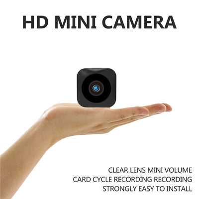 HD Mini WiFi Camera - 720P, Infrared Night Vision, APP, Motion Detect, Support Micro SD, Magnetic Mounting - Beewik-Shop.com