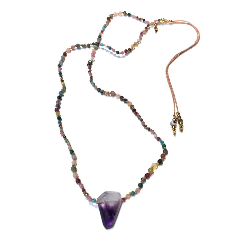 Epure Amethyst Necklace P