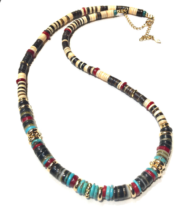 Long Puka Necklace 1