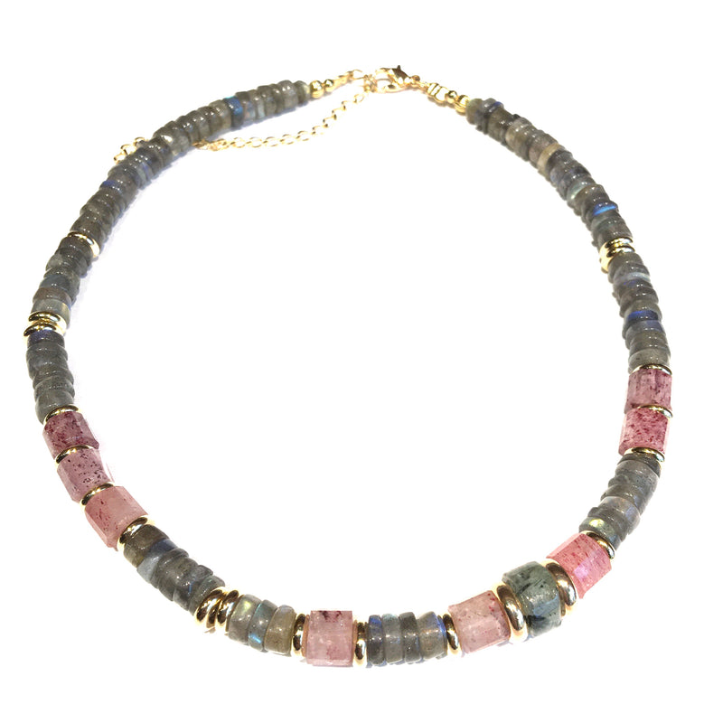 Labradorite Necklace 2