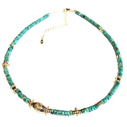 Milla Necklace Turquoise