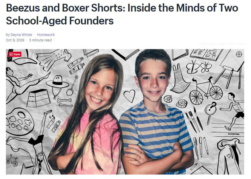 Kid Entrepreneurs as featured in Shopify's Blog Homework!