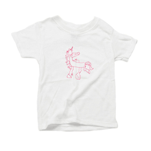 Magical Unicorn, Organic Toddler T-Shirt (3 colors available)